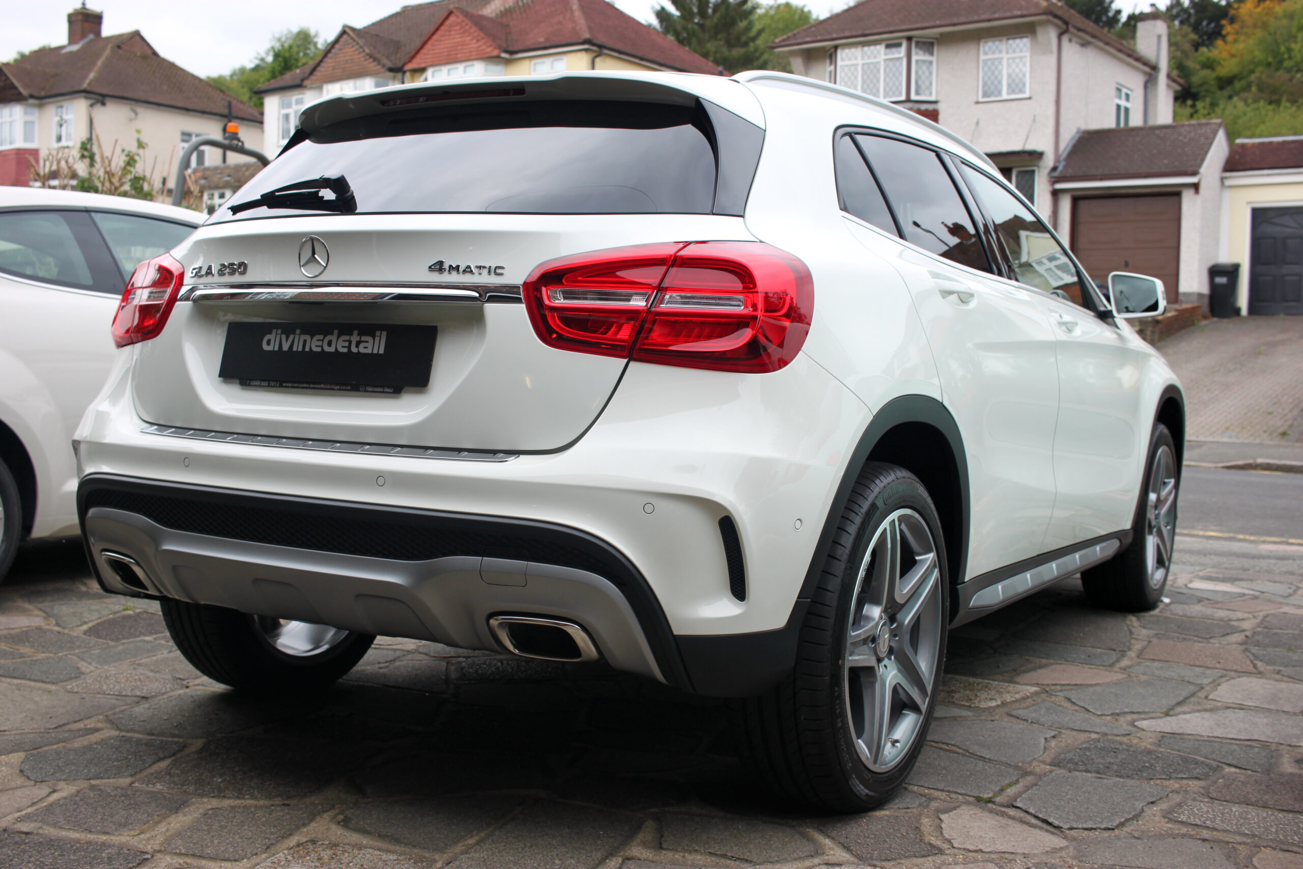 Mercedes GLA new car detail