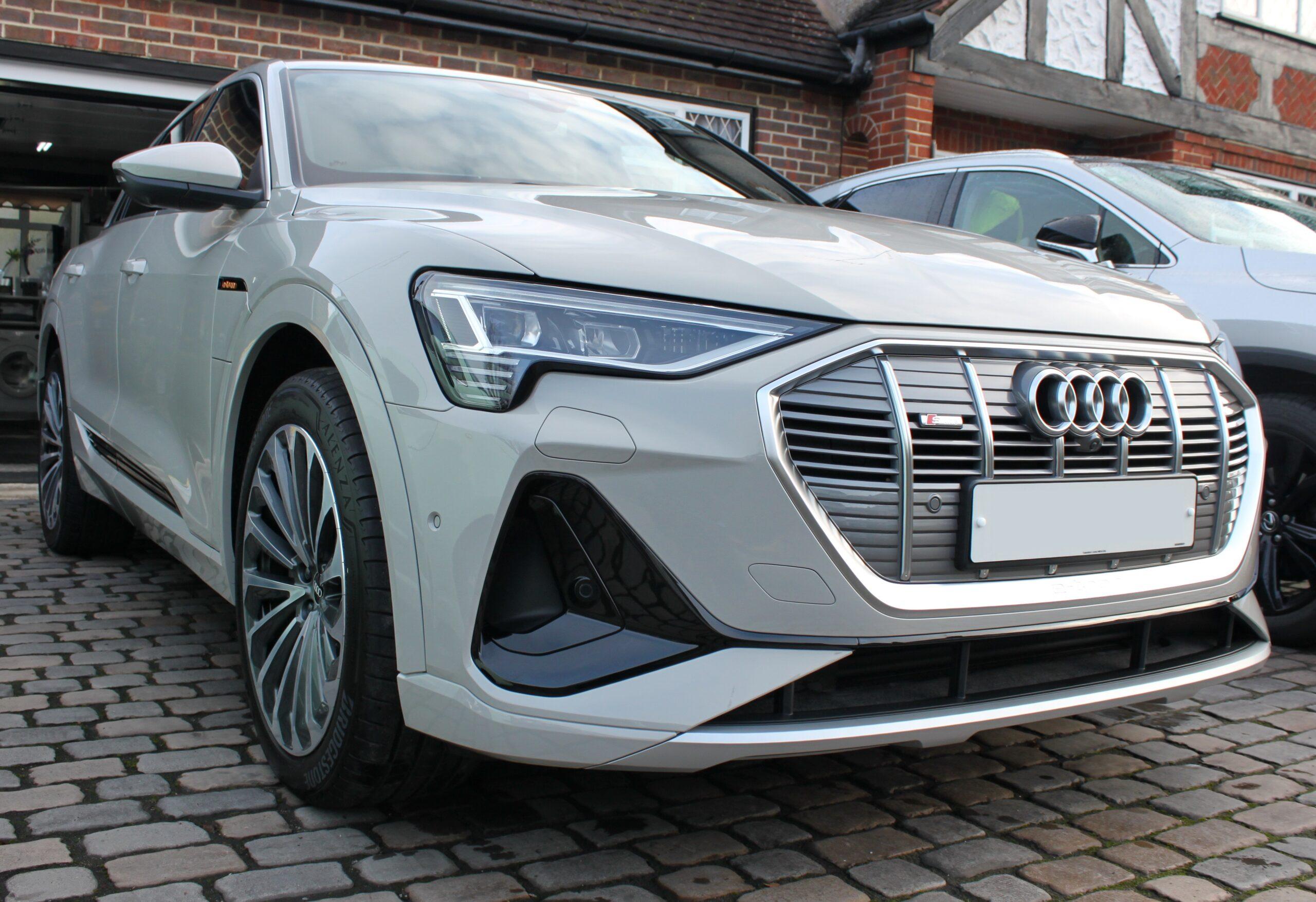 Audi E Tron New car detail