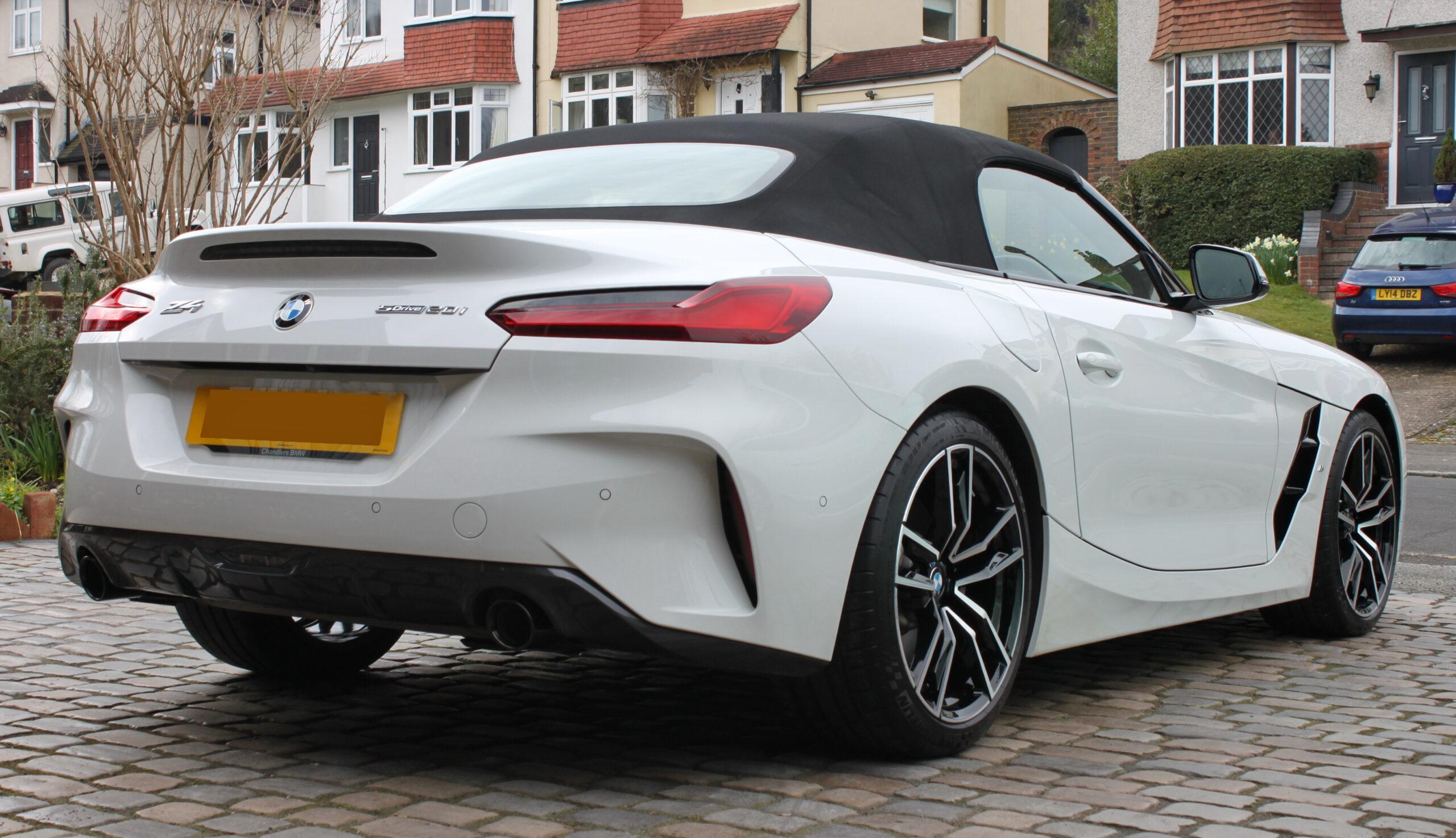 BMW Z4 detailed