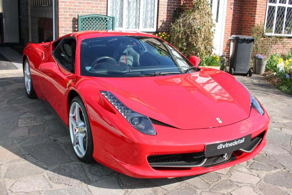 Ferrari 458 detailing