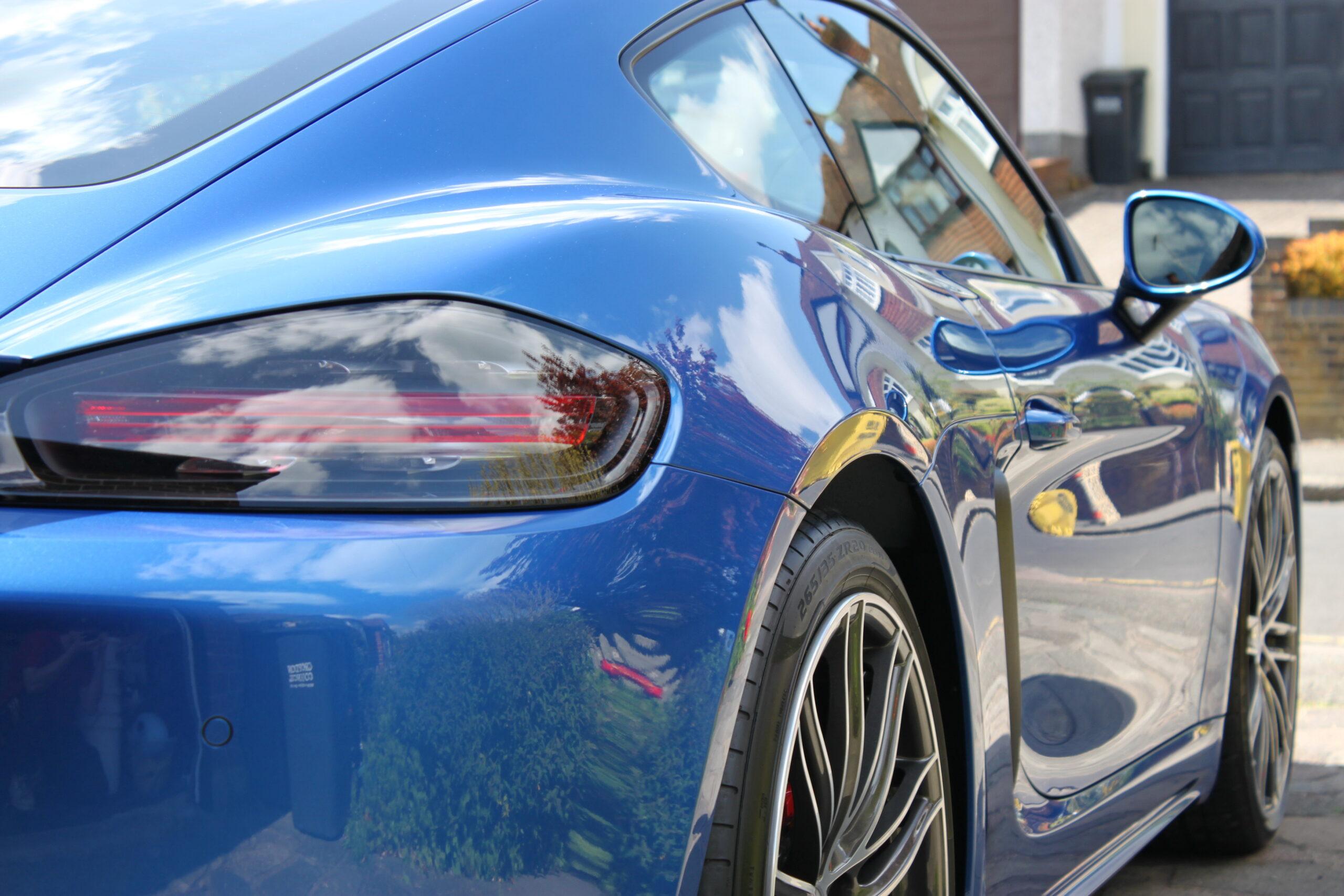 Porsche Cayman New car detail