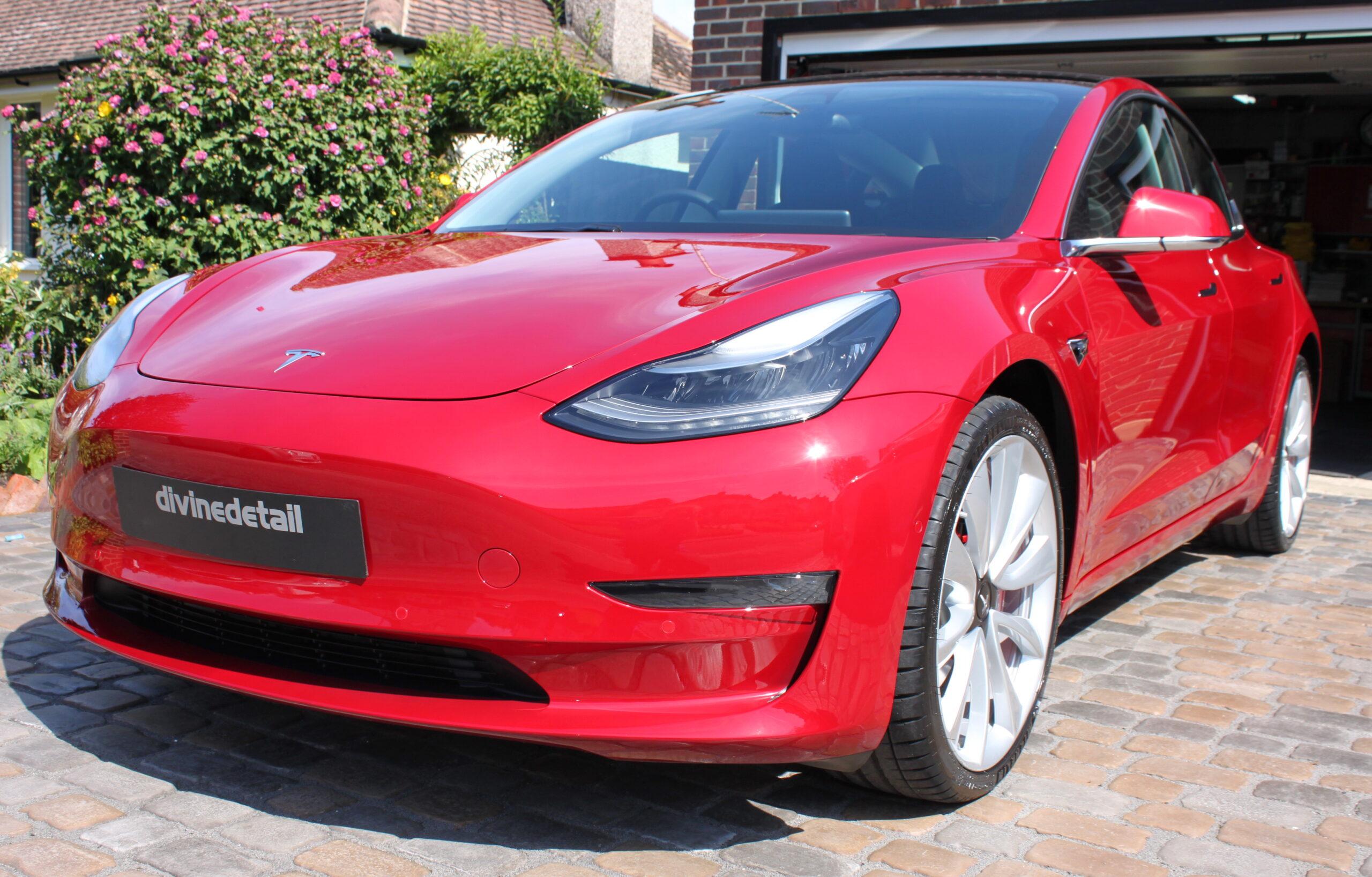 Tesla Model 3 New car detail