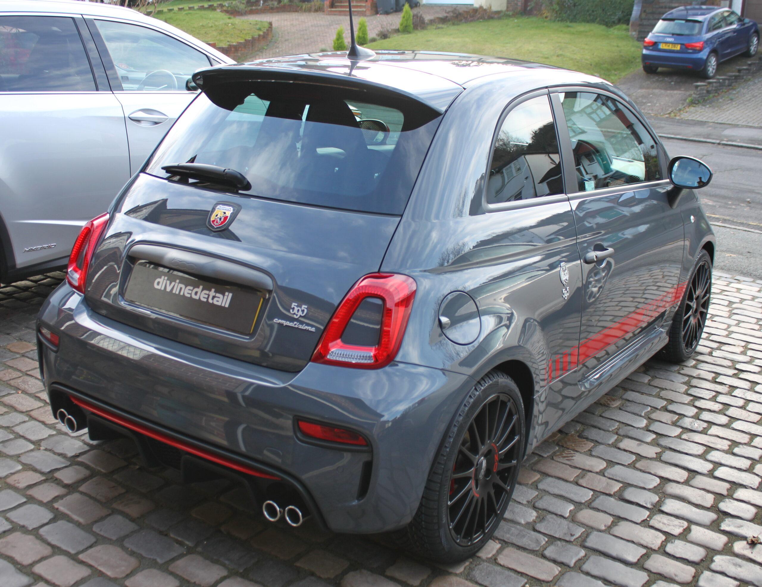 Fiat 500 New car detail