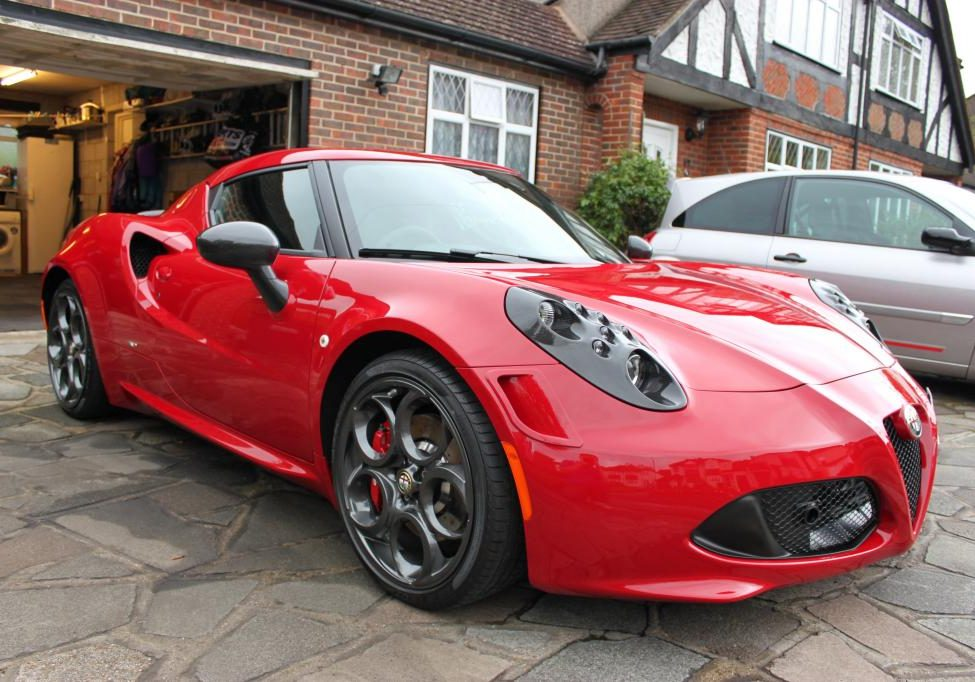 Alfa 4C detailed in Surrey
