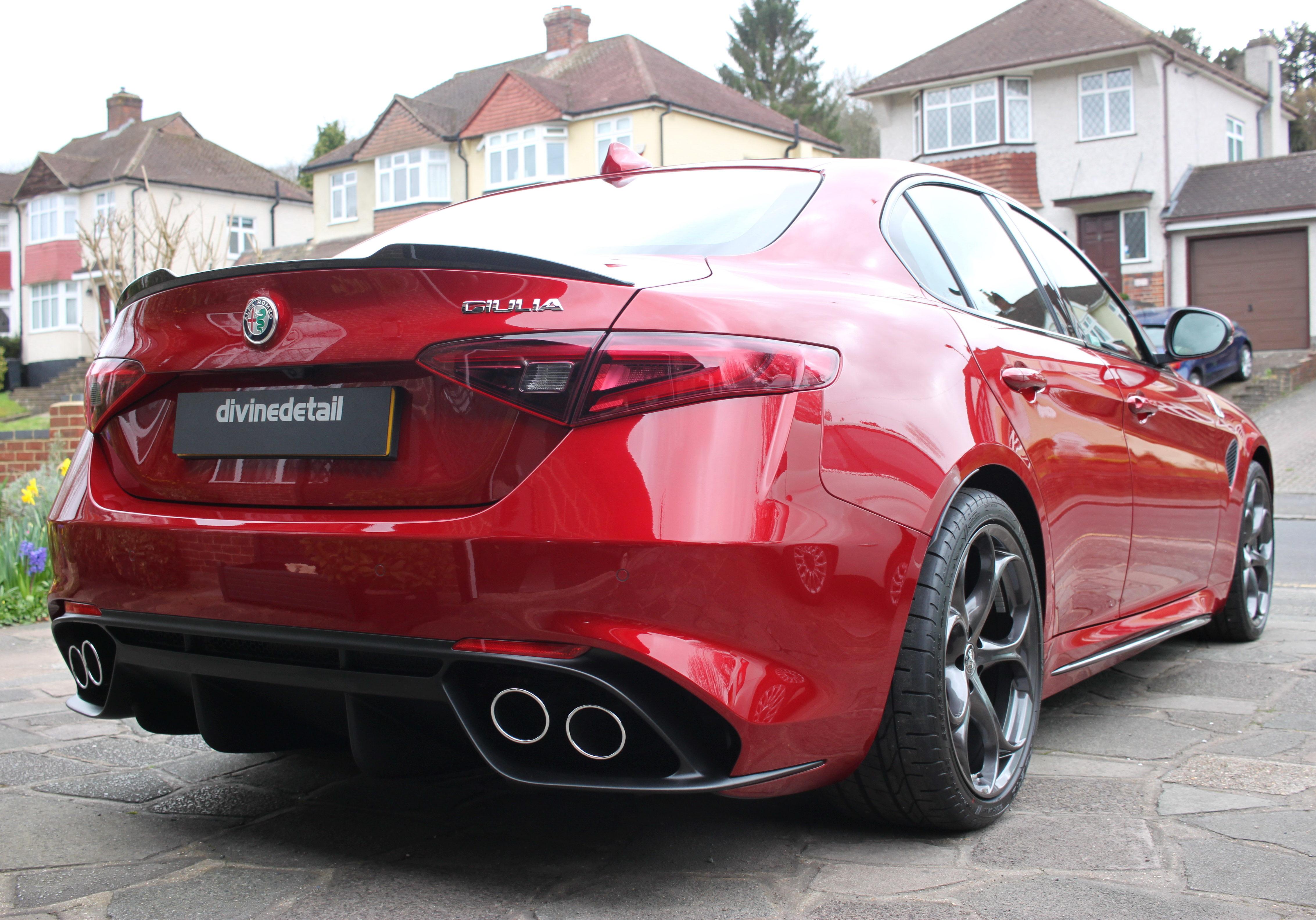 Alfa Guilia new car detail