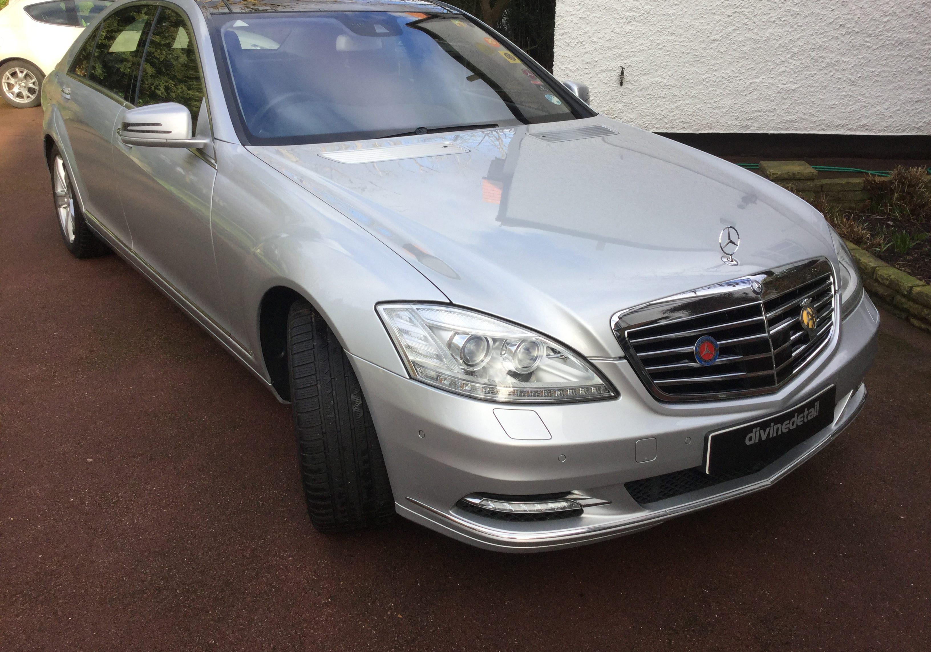Mercedes S class detail