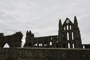 The Abbey in Whitby.