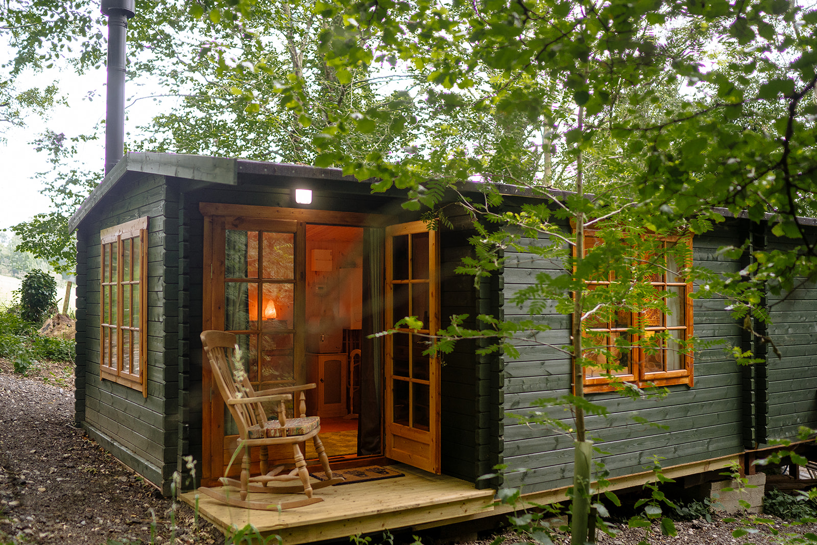 Our cabin, Woodland View.