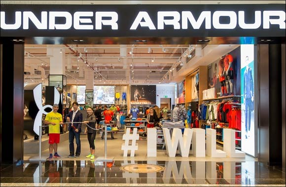 Under Armour opens 6th Store in Mall of