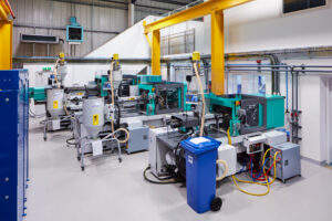 Our in-house Injection Moulding shop allows us to control quality and guarantee supply. It is currently expanding to meet ever rising demand for Ezi-Dock products.