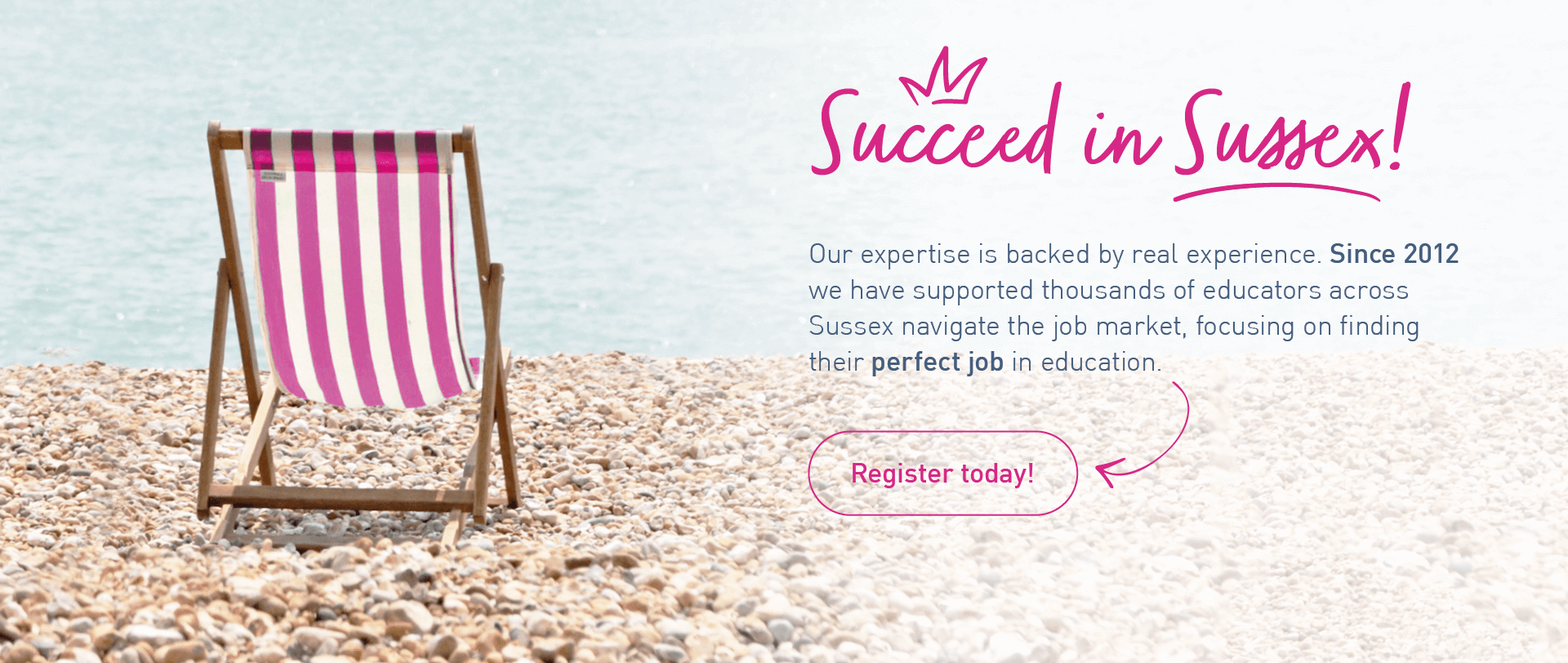 Succeed in Sussex Banner