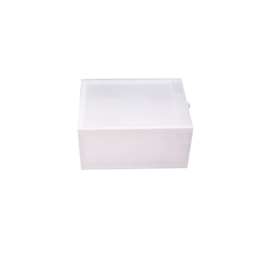 Stackable Drop Front sneaker box side