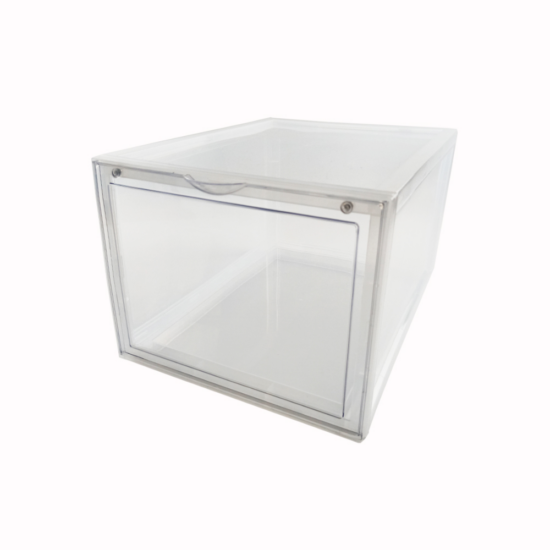 clear shoe box front profile
