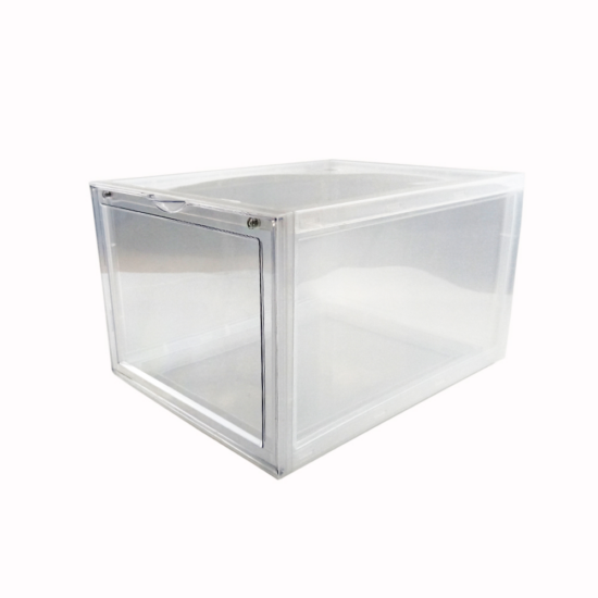 clear shoe box left profile