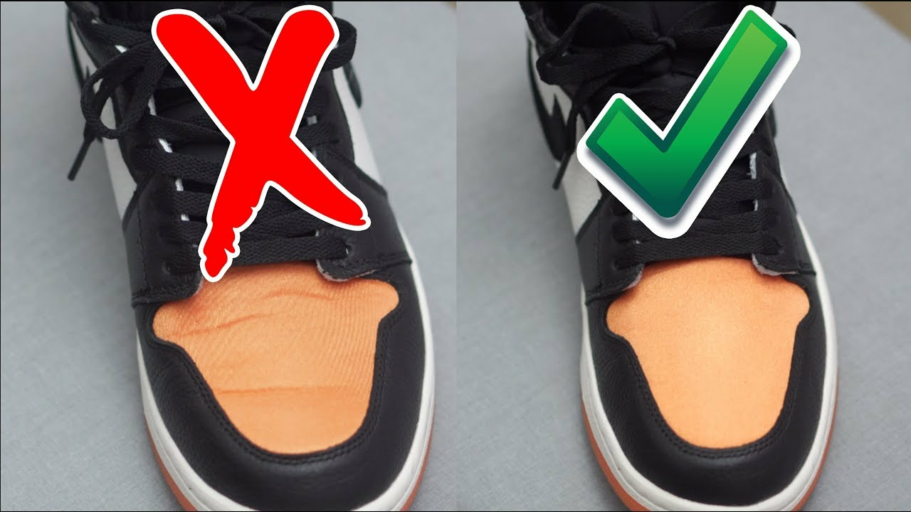 remove creases before and after