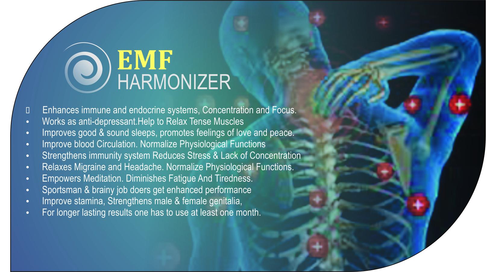 EMF Harmonizer Card