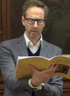 Matthew Hargreaves reading Virgil - image