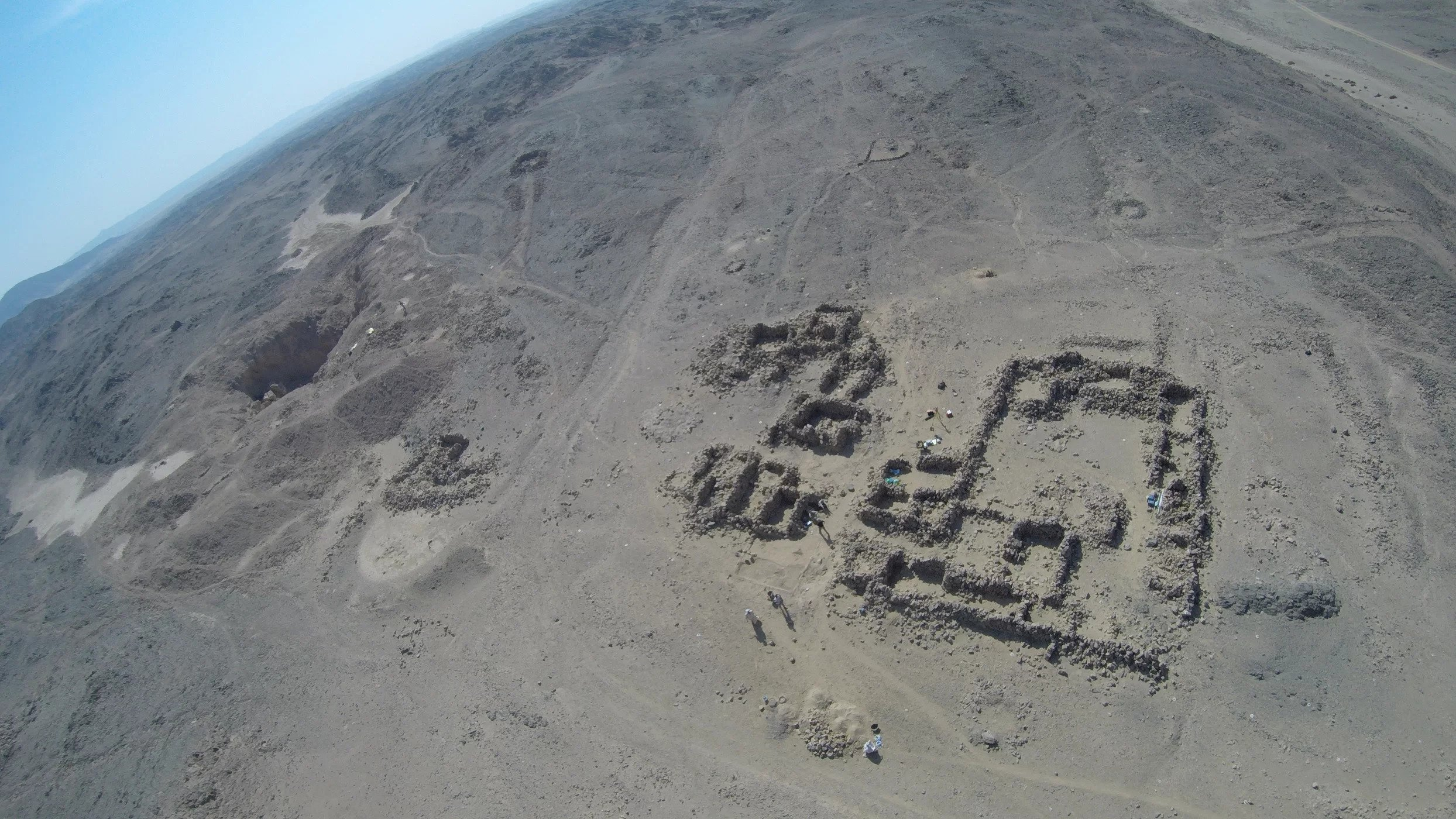 Ancient Egyptian Inscriptions Found at Amethyst Mining Site