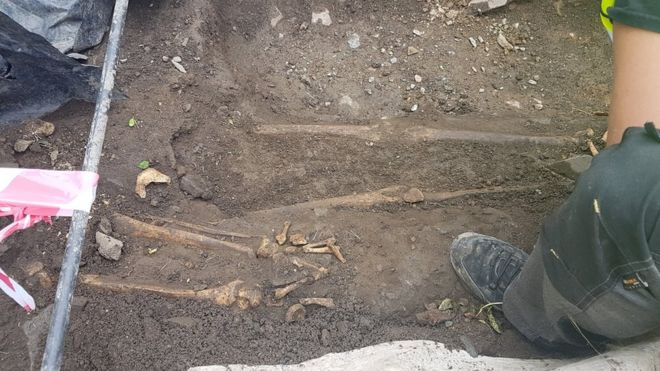 Medieval Child Skeletons Unearthed in Northern Ireland