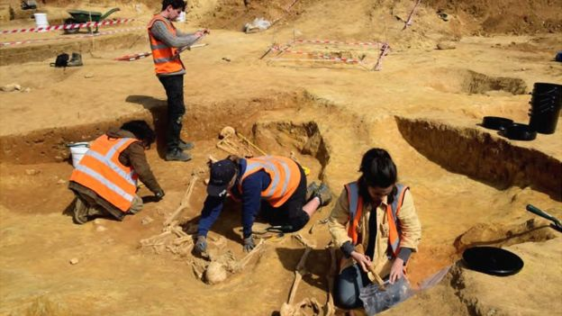 The work has been undertaken on behalf of the Havebury Housing Partnership and was monitored by the Suffolk County Council Archaeological Service
