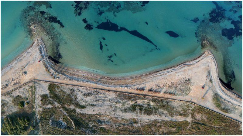 Traces of Roman engineering found in ancient port town