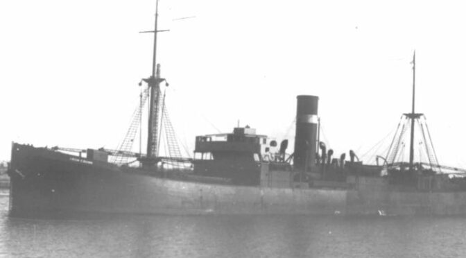 Scientists Spot Merchant Vessel Sunk During World War II