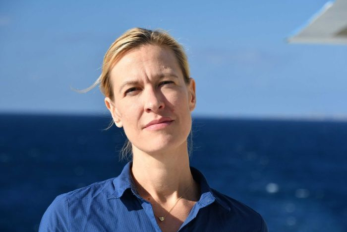 Chief Scientist at the Australian Maritime Museum, Emily Jateff