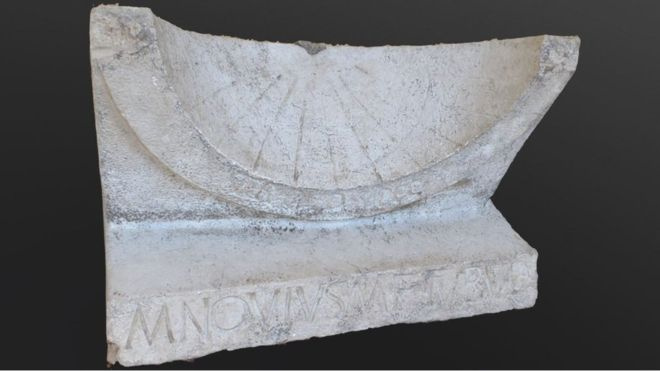 2,000-Year-Old Sundial Unearthed in Roman Town