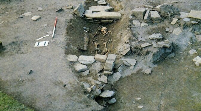 Uncovered Viking Funeral Ship In Scotland Contains Treasure Trove Of Ancient Relics