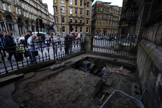 It's been 65 years since Hadrian's Wall was last discovered in the city