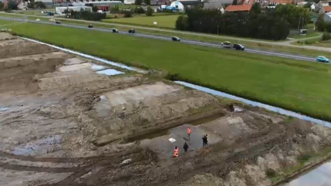 Archaeologists unearth Roman road in the Netherlands