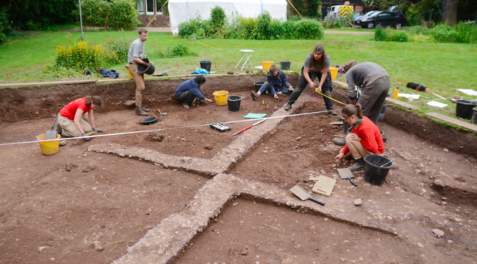 Archaeologists uncover ancient Viking camp from the 870s in the village of Repton