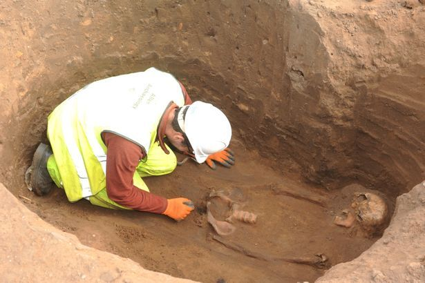 Archeologists find 60 Roman British skeletons buried in a field