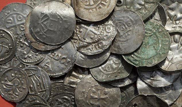 An archaeologist finds 100's of silver artifacts from the reign of Viking ruler Harald Bluetooth