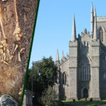 Remains of a medieval child found with other skeletons just yards from St Patrick's grave in Northern Ireland