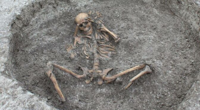 Bones Of Ancient Human Sacrifice Victims Found By Workers Laying Water Pipes