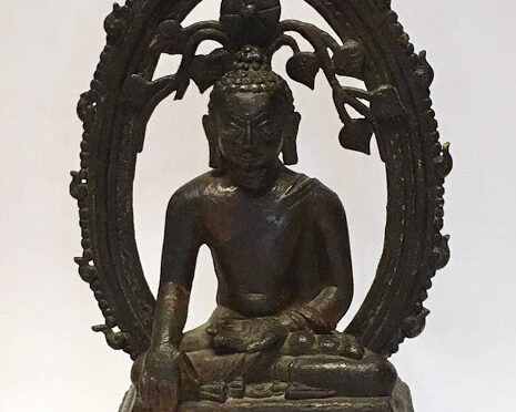 Stolen 12th century Indian Buddha statue found in London