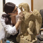 Well-Preserved Roman Eagle Unearthed In London