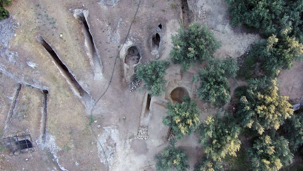 3,300-Year-Old Chamber Tombs Filled With Bones Discovered in Greece