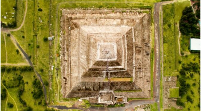 Mysterious Secret Tunnel Discovered Under Ancient Pyramid in Mexico