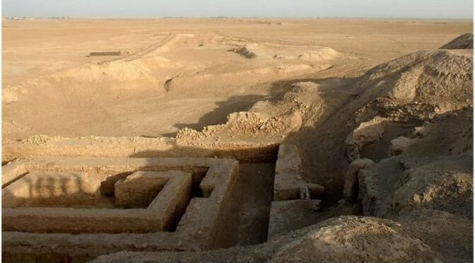 The very first city ever established in human history recorded