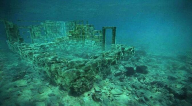 The Ancient Underwater 5,000- Year-Old Sunken City in Greece is considered to be the Oldest Submerged Lost City in the World.