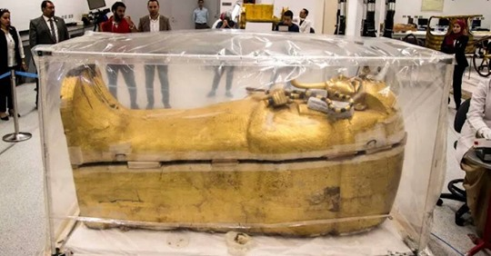 King Tut's Coffin Has been Removed from his Tomb for the First Time in History