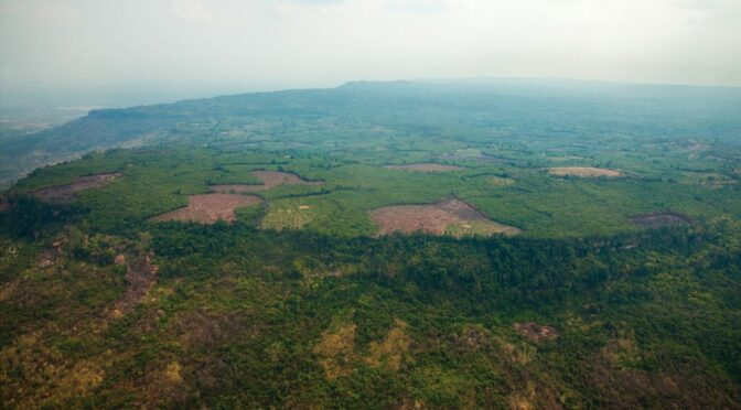 Ancient City of 'Mahendraparvata' Hidden Beneath Cambodian Jungle