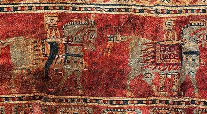 The world's oldest rug was made in Armenia