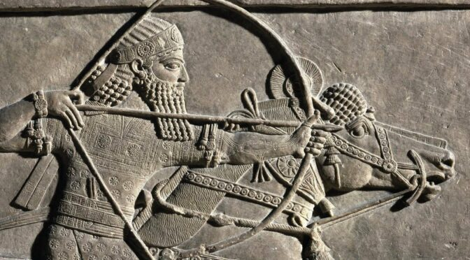Climate change may be behind fall of an ancient empire, say researchers