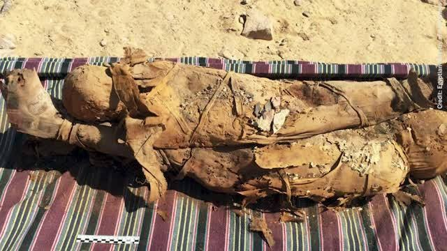 Scientists explore Egyptian mummy bones with X-rays and infrared light
