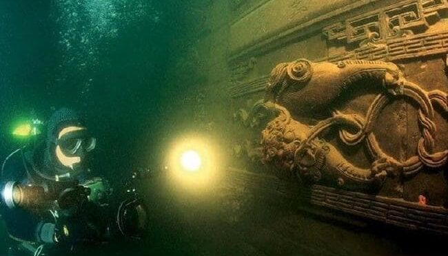 Divers found a perfectly preserved ancient Chinese underwater city