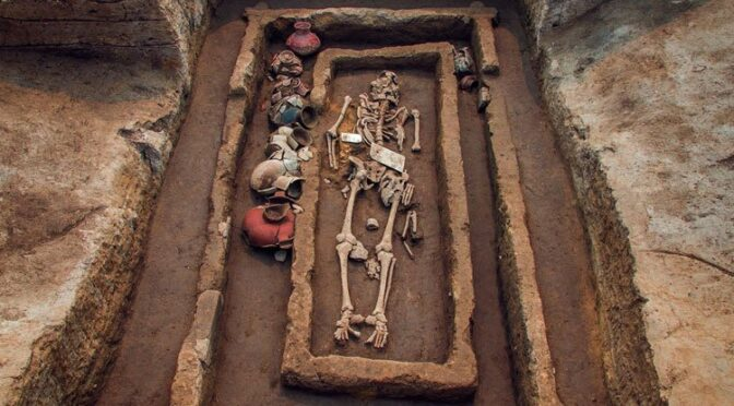 The Ancient Remains of 5,000-Year-Old 'Giants' Discovered in China