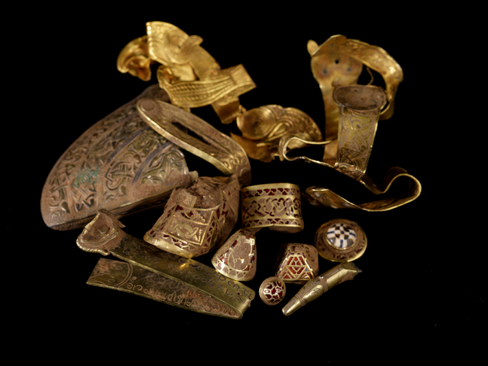 'One of the greatest finds': experts shed light on Staffordshire hoard